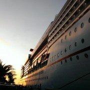 photo of cruise ship