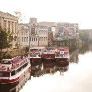 photo of passenger river boat
