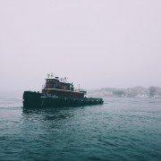 image of tug boat
