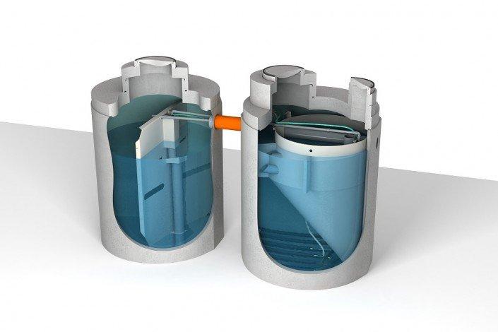 image of twin Aco Clara system unit