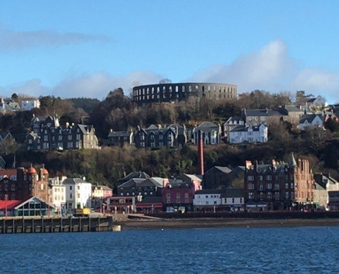 photo of the McCaig Tower in Oban